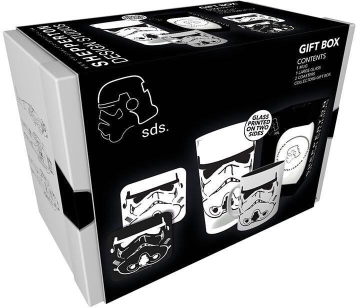 Dárkový set Star Wars - Original Stormtrooper (hrnek, sklenice, podtácky)