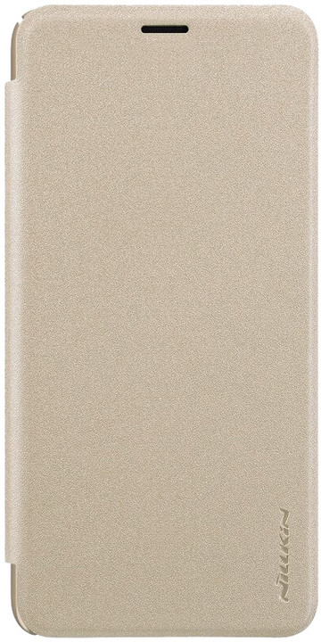 Nillkin Sparkle Folio pouzdro pro Samsung J610 Galaxy J6+, zlatá
