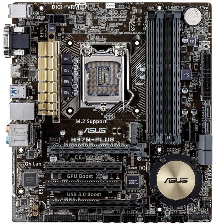 ASUS H97M-PLUS - Intel H97