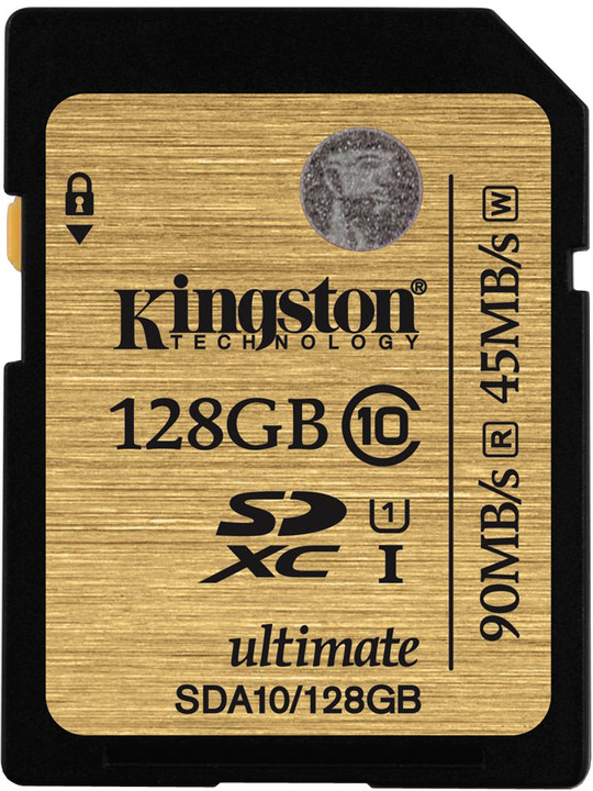 Kingston SDXC Ultimate 128GB Class 10 UHS-I