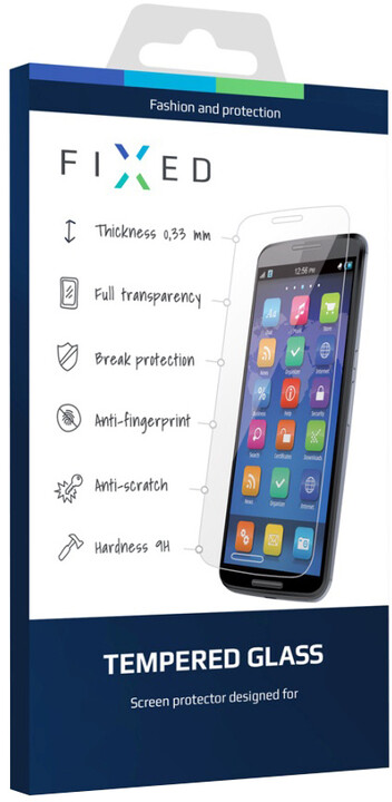 FIXED ochranné tvrzené sklo pro Motorola Moto C Plus 4G, 0.33 mm