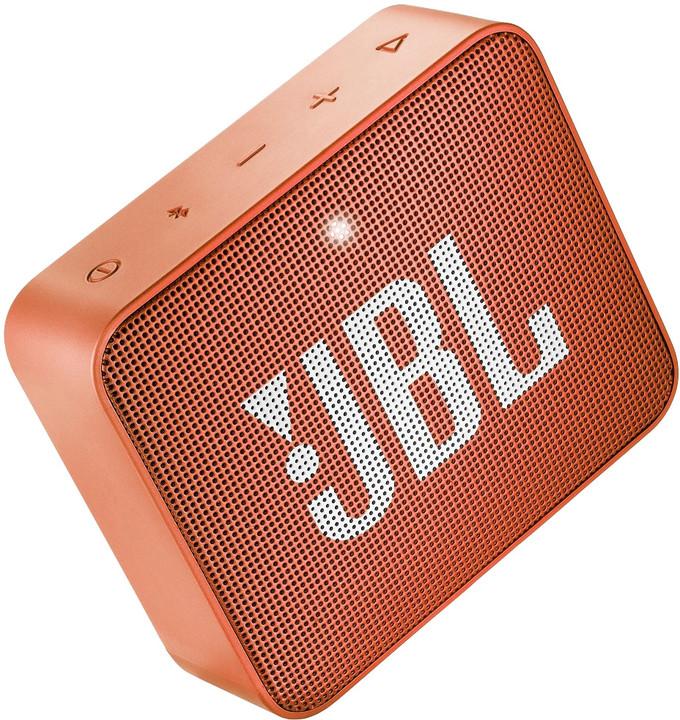 JBL GO2, oranžová