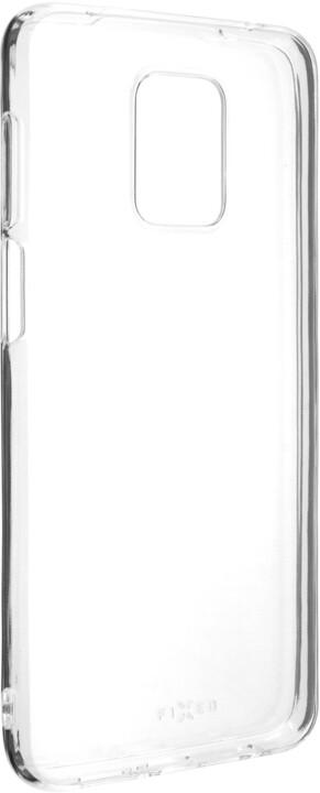 FIXED TPU gelové pouzdro pro Xiaomi Redmi Note 9 Pro/9 Pro Max/Note 9S, čirá