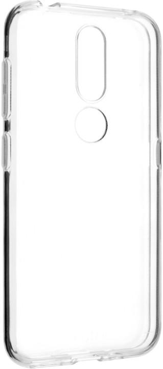 FIXED TPU gelové pouzdro pro Nokia 4.2, čiré