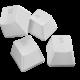 Razer PBT Keycap Upgrade Set, 120 kláves, bílé