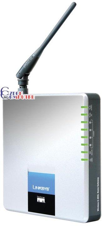 Linksys WAG200G Wireless-G ADSL Home Gateway