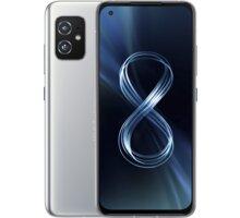 Asus Zenfone 8, 16GB/256GB, Silver - ZS590KS-8J012EU + Antivir Bitdefender Mobile Security for Android 2020, 1 zařízení, 12 měsíců v hodnotě 299 Kč