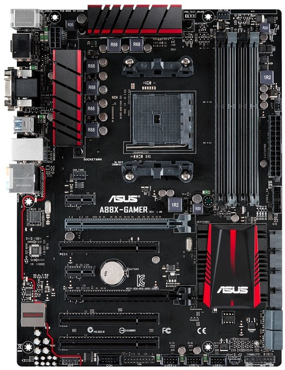 ASUS A88X-GAMER GAMING MB - AMD A88X