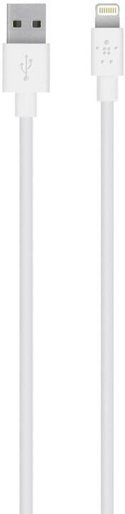 Belkin kabel nabíjecí a synchronizační s Lightning konektorem, 1.2m bílý