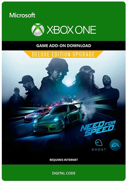 Need for Speed: Deluxe Edition Upgrade (Xbox ONE) - elektronicky