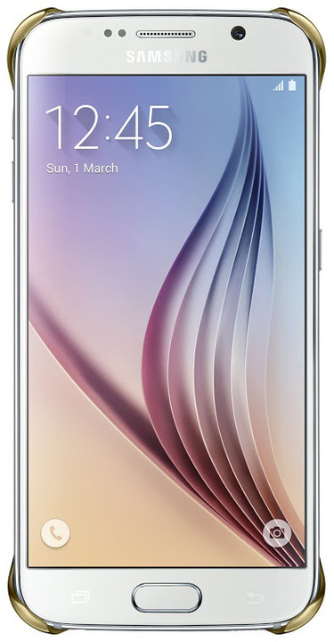 Samsung EF-QG920B pouzdro pro Galaxy S6 (G920), zlatá
