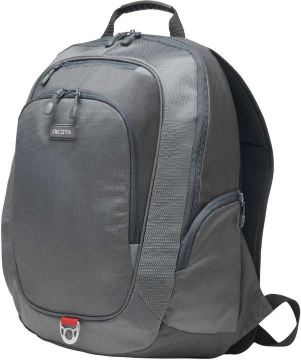 "DICOTA Backpack Light 15,6"", světle šedá"
