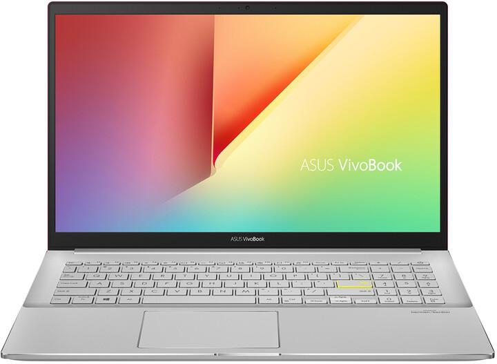 ASUS VivoBook S15 S533EA, červená