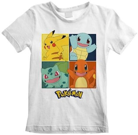 Tričko Pokémon: Squares, dětské, (12-13 let)