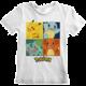 Tričko Pokémon: Squares, dětské, (9-11 let)