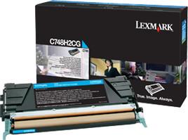 Lexmark C748H2CG, cyan