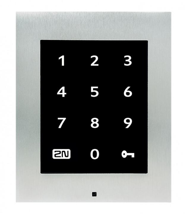 2N Access Unit 2.0 Touch Keypad, IP dotyková klávesnice, bez krycího rámečku