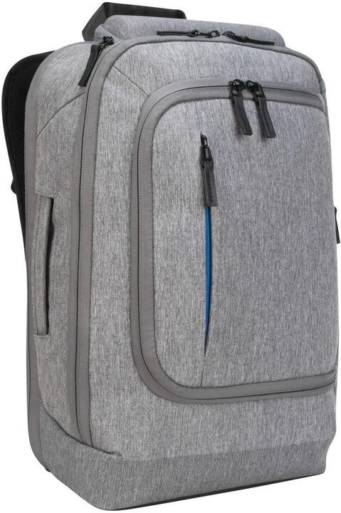 "Targus batoh na notebook CityLite Pro Premium Convertible 15.6"", šedá"