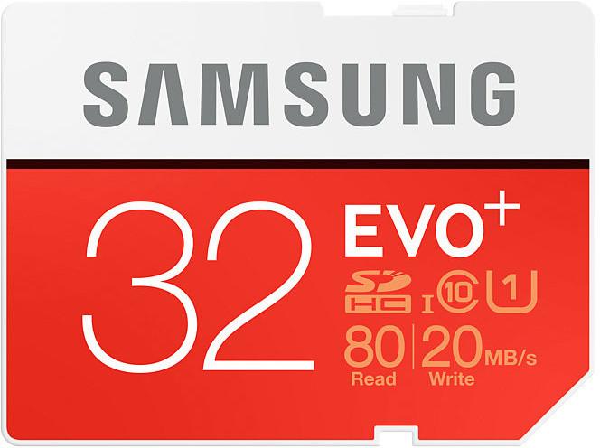 Samsung SDHC EVO+ 32GB UHS-I