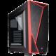 Corsair Carbide Series SPEC-04, okno, černo-červená  + Voucher až na 3 měsíce HBO GO jako dárek (max 1 ks na objednávku)