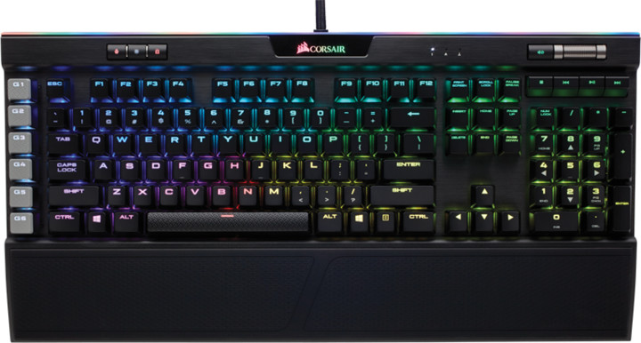 Corsair K95 PLATINUM RGB, Cherry MX Brown, US