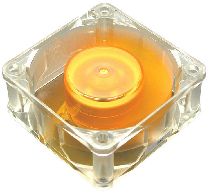 Akasa Amber, 60mm, průhledný