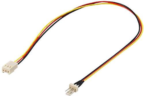 PremiumCord prodlužovací kabel k ventilátoru 3pin samec - 3pin samice , 30cm