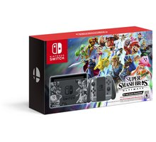 Nintendo Switch Super Smash Bros. Ultimate Limited Edition, šedá