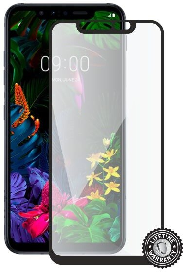 Screenshield ochrana displeje Tempered Glass pro LG G8s ThinQ, full cover, černá
