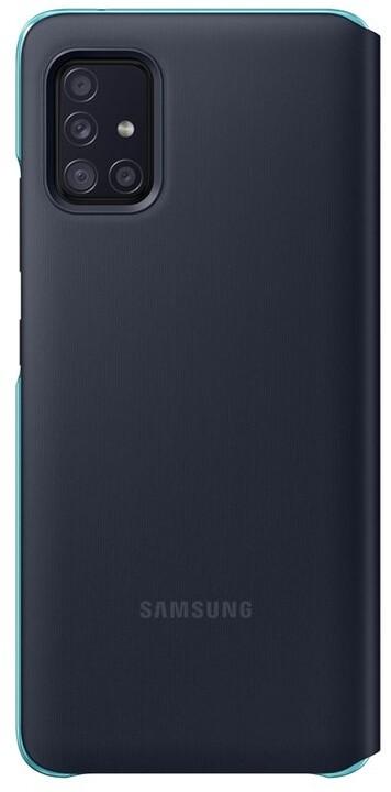Samsung flipové pouzdro S View pro Samsung Galaxy A51 (5G), černá