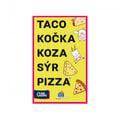 Karetní hra Albi Taco, kočka, koza, sýr, pizza (CZ)
