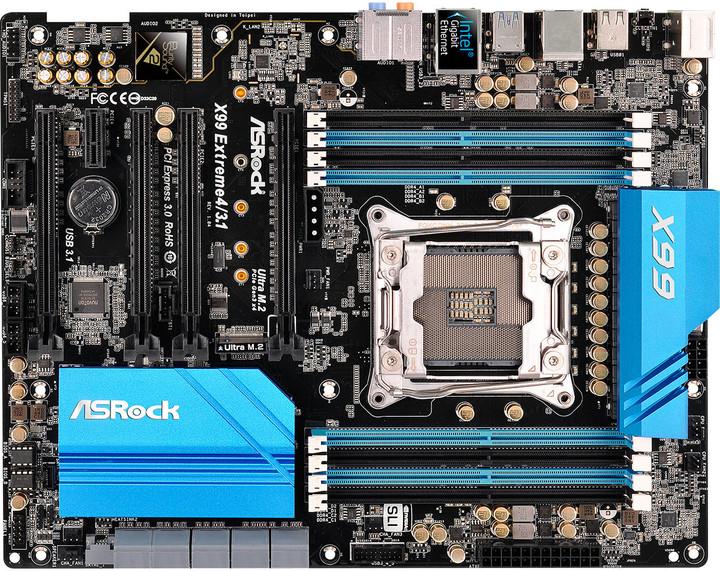 ASRock X99 Extreme4/3.1 - Intel X99