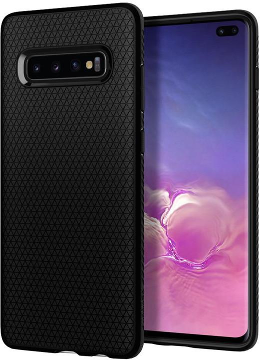 Spigen Liquid Air Galaxy S10+, matně černá