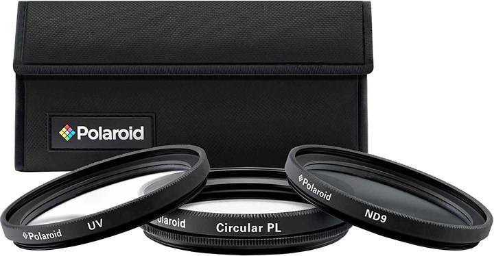 Polaroid Filter Kit 58mm MC UV, CPL, ND9