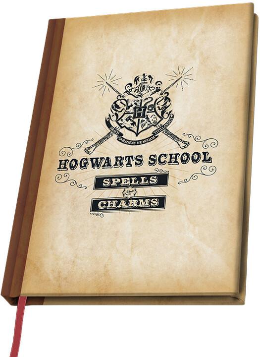 Zápisník Harry Potter - Hogwarts School A5)