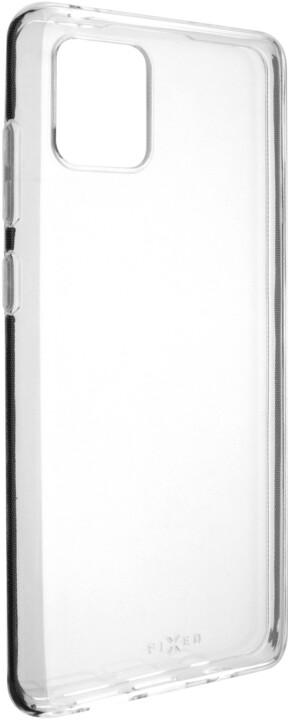 FIXED Skin ultratenké TPU gelové pouzdro pro Samsung Galaxy Note 10 Lite, čiré