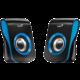 Genius SP-Q180, 2.0, černo/modré