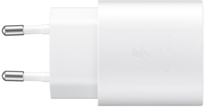 Samsung napájecí adaptér s rychlonabíjením, 25W, bílá