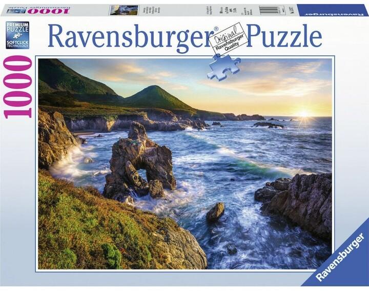 Puzzle - Velký západ slunce, 1000 dílků