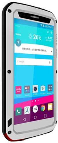 Love Mei Case ochranné pouzdro Powerful pro LG G4 Silver
