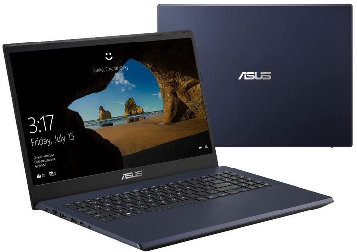 ASUS X571GT, černá