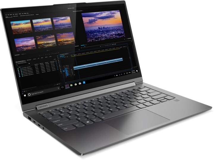 Lenovo Yoga C940-14IIL, šedá