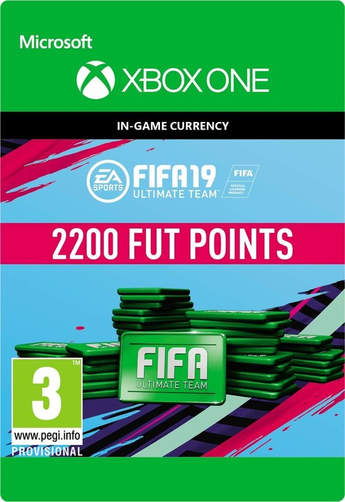 FIFA 19 - 2200 FUT Points (Xbox ONE) - elektronicky