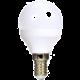 Solight LED žárovka, miniglobe, 6W, E14, 3000K, 450lm, bílé provedení