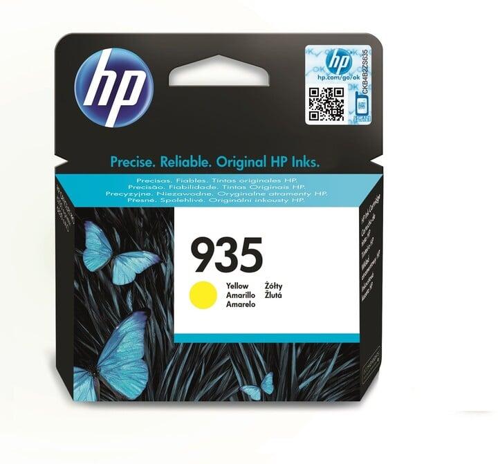 HP C2P22AE náplň č.935, žlutá