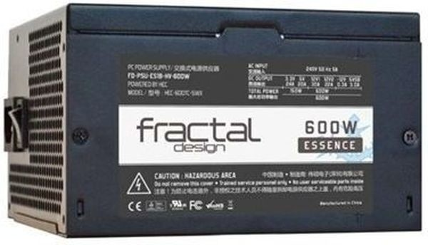 Fractal Design Essence Black 600W