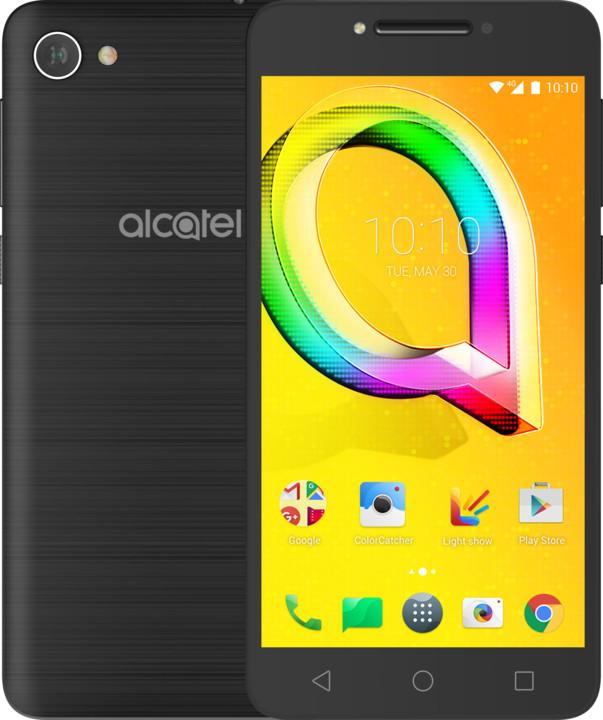 ALCATEL A5 LED, černá