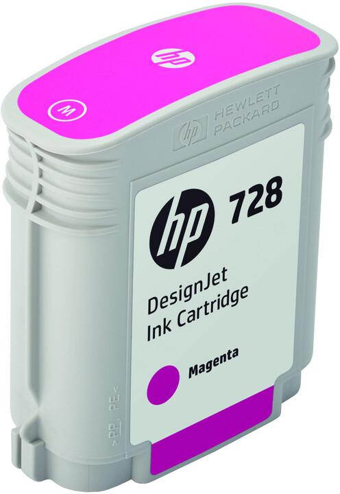 HP F9J62A no. 728 (40ml), magenta