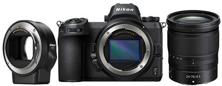 Nikon Z6 + 24-70mm + FTZ adapter