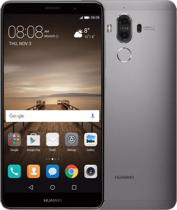 Huawei Mate 9, Dual Sim, šedá